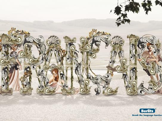 Berlitz Print Ad -  French