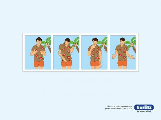 Berlitz Print Ad -  STD