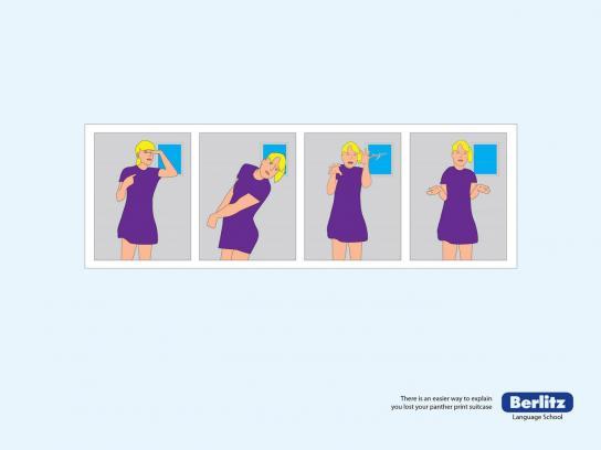 Berlitz Print Ad -  Suitcase