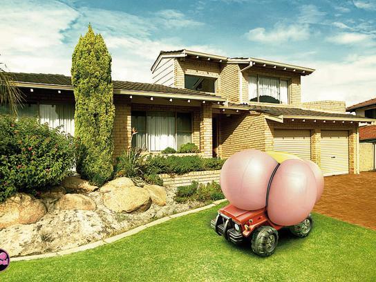 Big Babol Print Ad -  Car
