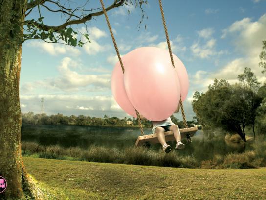 Big Babol Print Ad -  Swing