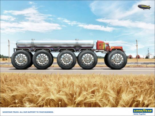 Goodyear Print Ad -  BigTruck