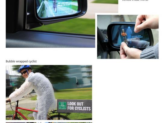 Bike Month Ambient Ad -  Ambient