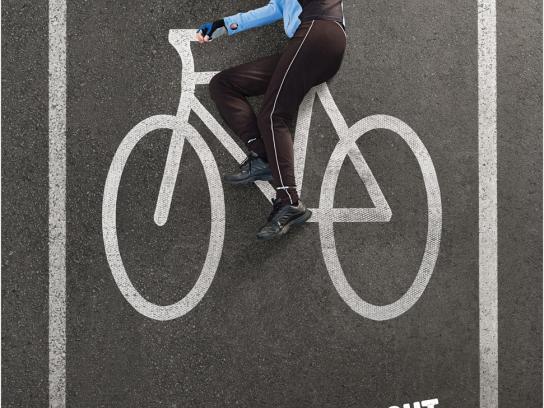 Bike Month Print Ad -  Woman