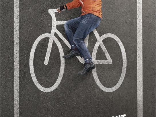 Bike Month Print Ad -  Man