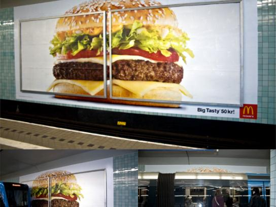 McDonald's Outdoor Ad -  Big Tasty