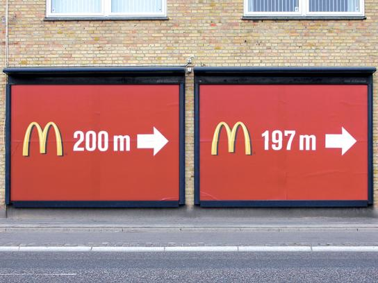 McDonald's Outdoor Ad -  Billboards 200m-197m