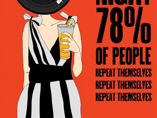Binboa Vodka Print Ad -  Vinyl