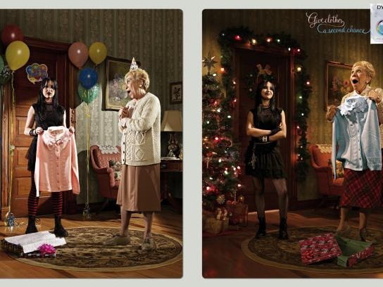 Dylon Print Ad -  Birthday - Christmas