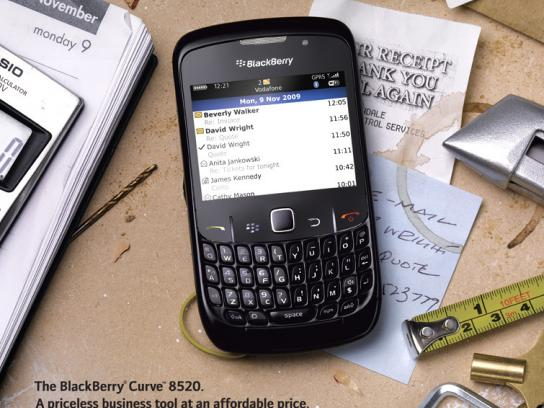 BlackBerry Print Ad -  Priceless