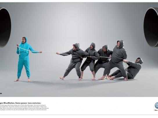 Volkswagen Print Ad -  Drag
