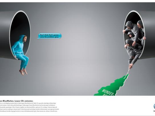 Volkswagen Print Ad -  Wonderbaum