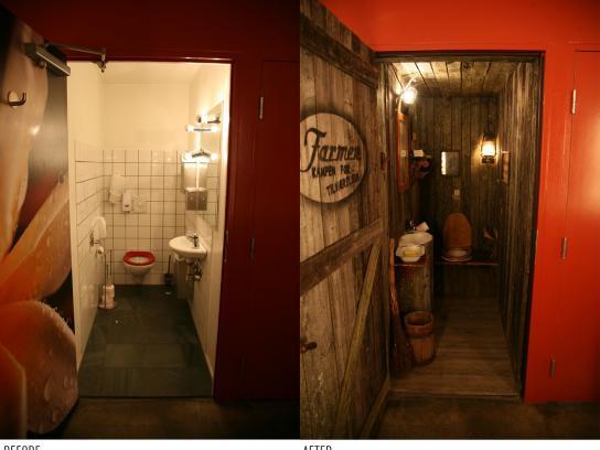 Farmen Ambient Ad -  Toilet