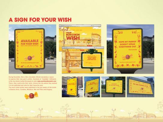 Bon o Bon Outdoor Ad -  Wish