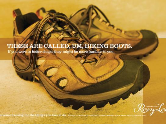 Roxy Lou Print Ad -  Boots