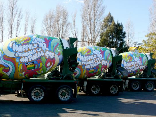 Boral Ambient Ad -  The Hippie Cement Truck