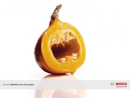 Bosch Print Ad -  Veggi fear, Pumpkin