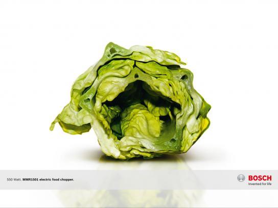 Bosch Print Ad -  Veggi fear, Salad