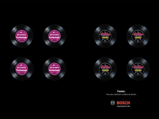 Bosch Print Ad -  Faster