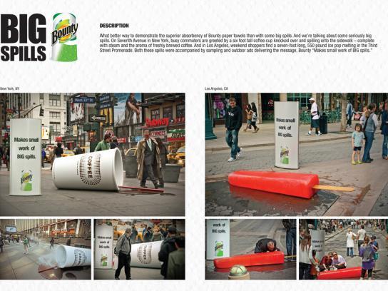 Bounty Ambient Ad -  Big skills