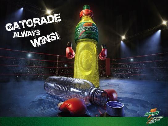 Gatorade Print Ad -  Boxing