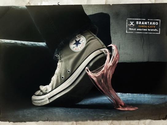 Brantano Shoe City Print Ad -  Chewing gum