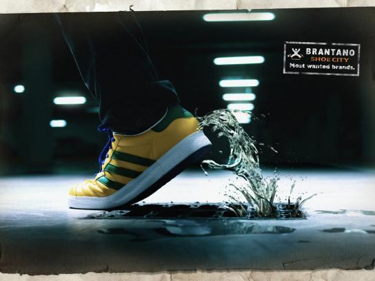 Brantano Shoe City Print Ad -  Water