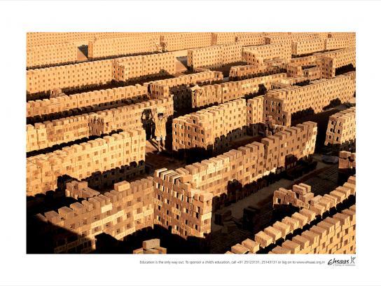 Ehsaas Print Ad -  Bricks