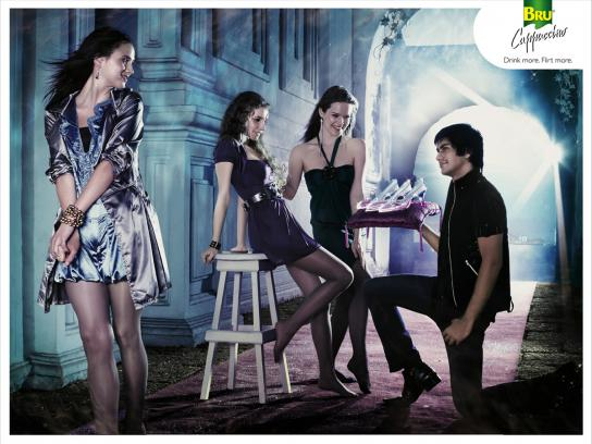 Bru Print Ad -  Cinderella