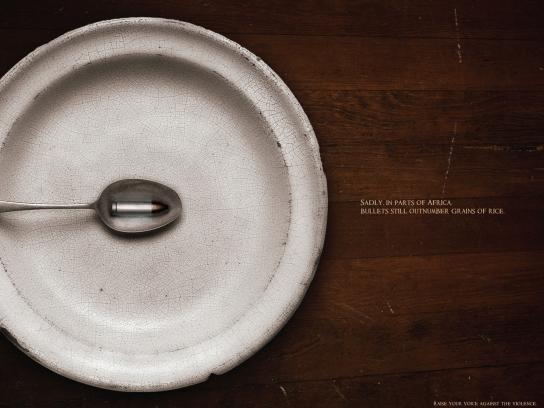 Getty Images Print Ad -  Bullet