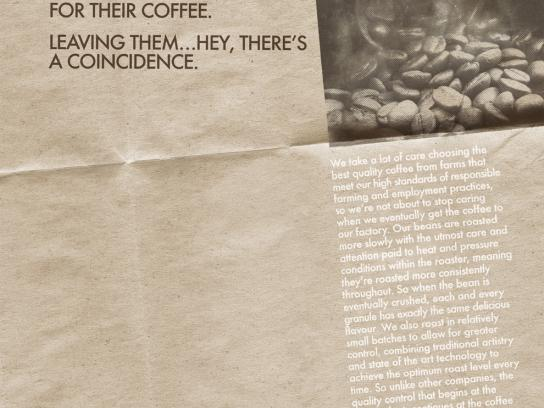 ecoffee Print Ad -  Coincidence