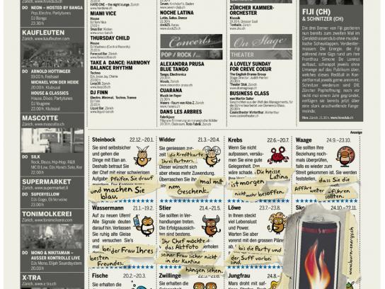 Burn Print Ad -  Horoscope