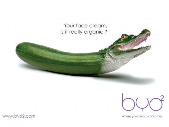 BYO2 Print Ad -  Face cream
