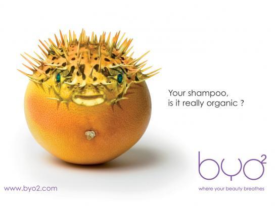 BYO2 Print Ad -  Shampoo