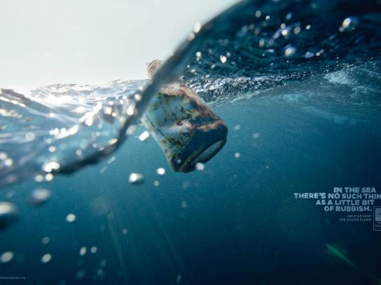 Surfrider Foundation Print Ad -  Can