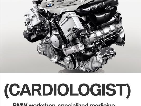 BMW Print Ad -  Cardiologist