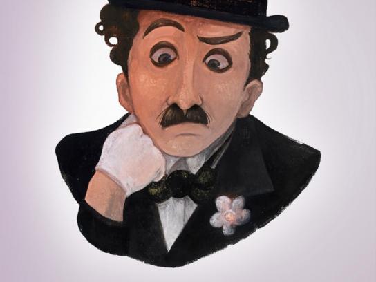 Panasonic Print Ad -  Chaplin