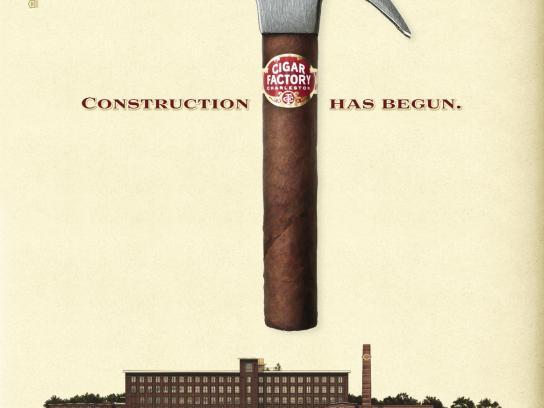Cigar Factory Print Ad -  Hammer