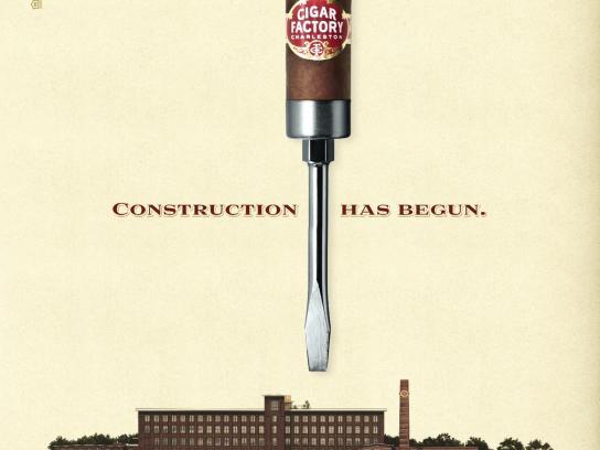 Cigar Factory Print Ad -  Screwdriver