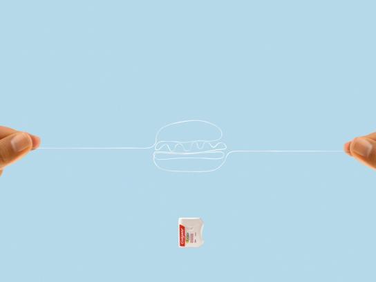 Colgate Outdoor Ad -  Hamburger