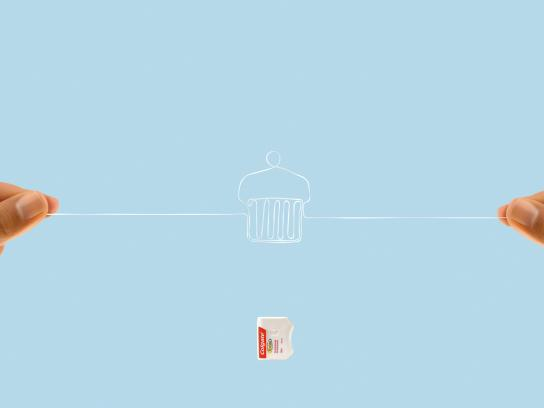 Colgate Outdoor Ad -  Cupcake