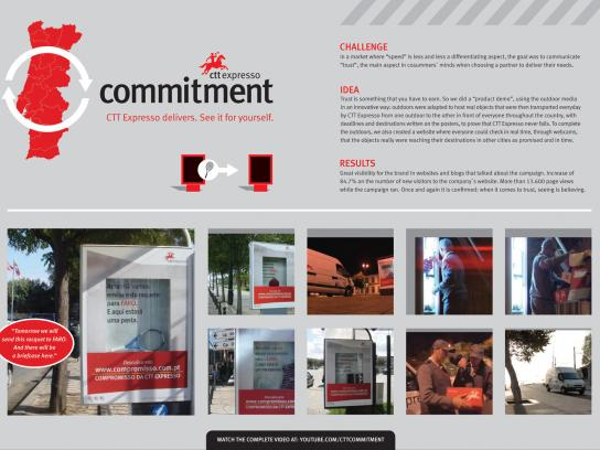 CTT Expresso Ambient Ad -  Commitment