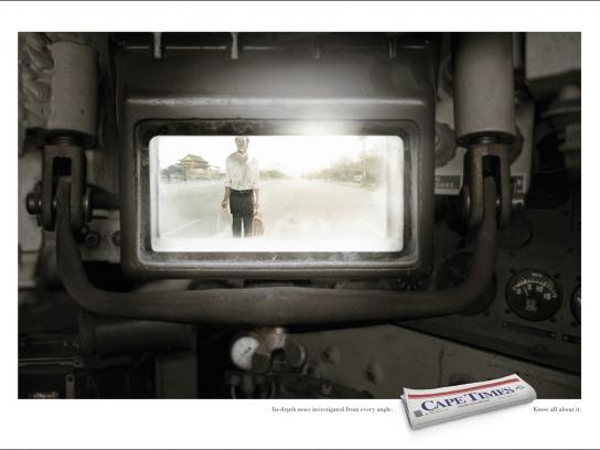 Cape Times Print Ad -  Tank