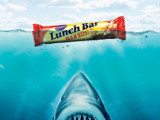 Cadbury Print Ad -  Jaws