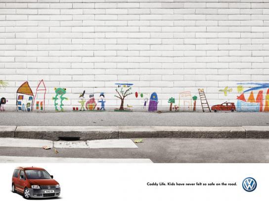 Volkswagen Print Ad -  Wall