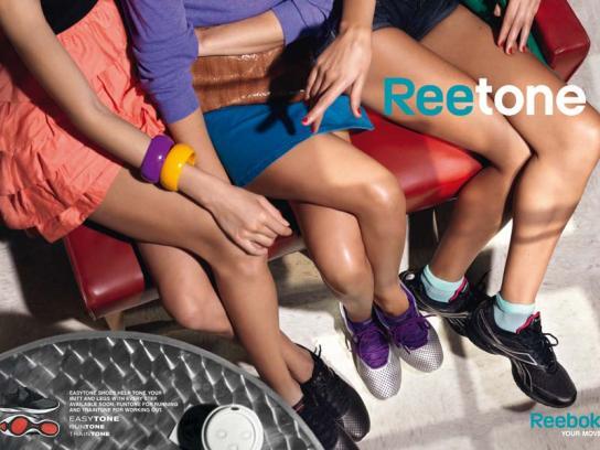 Reebok Print Ad -  Cafe