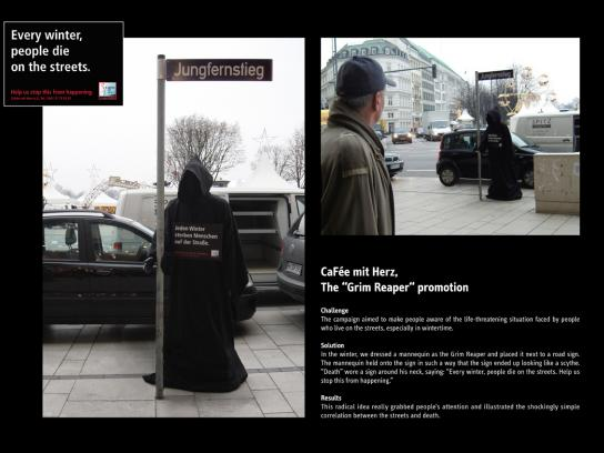 Cafee mit Herz Ambient Ad -  The Grim Reaper