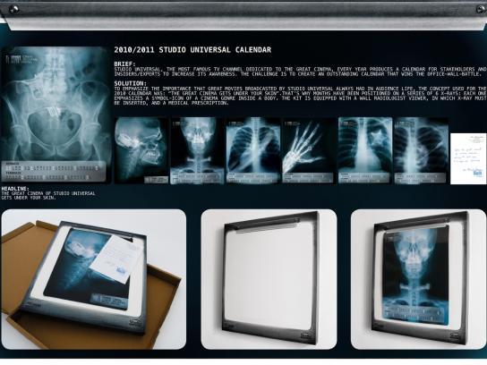 Studio Universal Direct Ad -  Calendar
