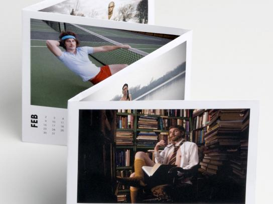 Colle+McVoy Direct Ad -  Creative calendar
