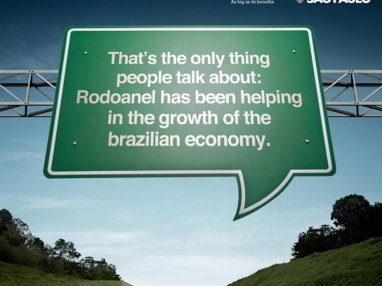 Governo do Estado Sao Paulo Print Ad -  Sign